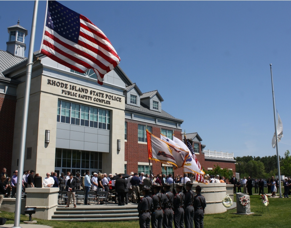 The 26th annual Rhode Island State Police Peace Officers' Memorial ceremony honored all current, past and deceased sworn and civilian members of the Rhode Island State Police