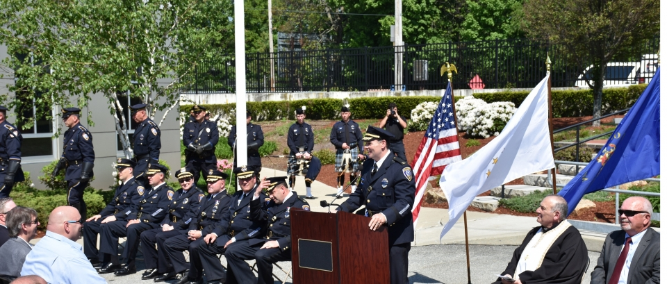 The Cranston Police Department joined police departments across the country this week to honor law enforcement offers who made the ultimate sacrifice.