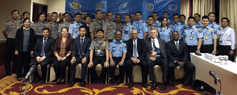 INTERPOL Washington meets with Indonesian partners