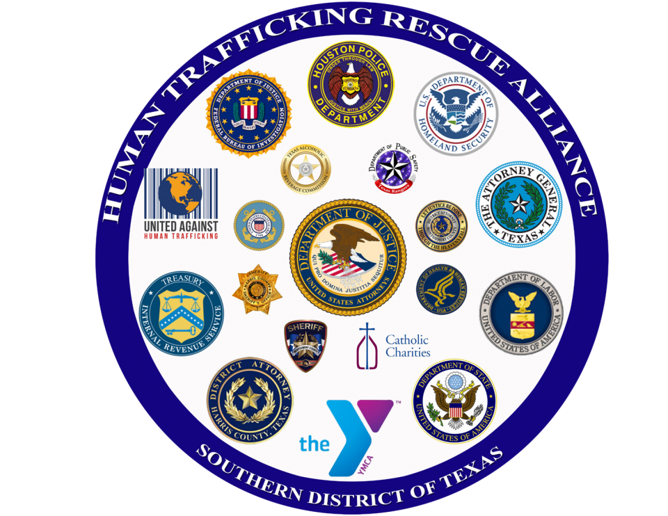 Federal law enforcement sex trafficking