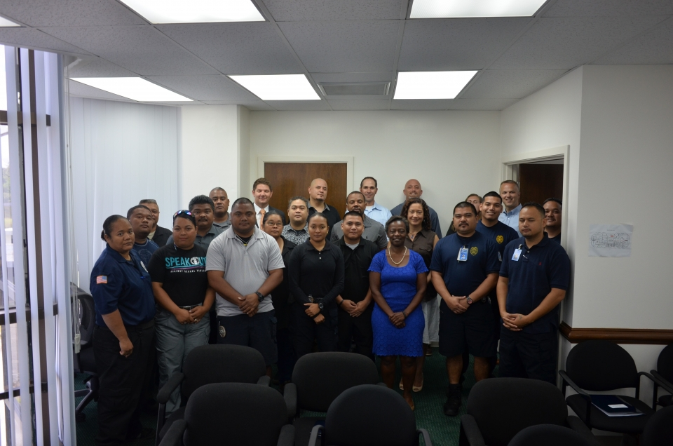 Picture of Participants at the OCDETF Training held in Saipan, NMI