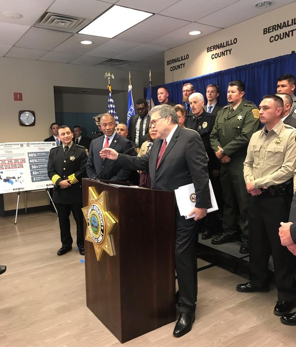 Operation Triple Beam Albuquerque w AG
