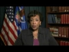 AG Lynch Discusses Federal Election Monitors, Urges All Americans to Vote