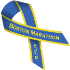 Boston Marathon Bombing Ribbon 4/15/13