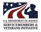 U.S. Department of Justice Servicemembers and Veterans Initiative
