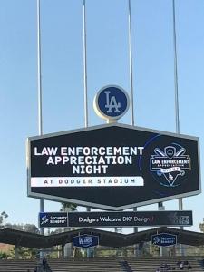 Law Enforcement Appreciation Night at Dodger Stadium