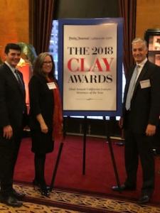 2018 CLAY Award Recepients