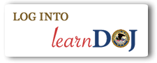Log into learnDOJ