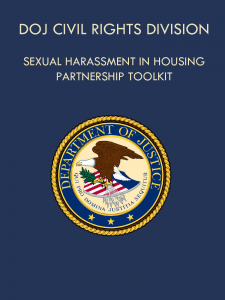 Partnership Toolkit – Sexual Harassment in Housing