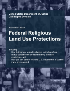 Information about Federal Land Use Protections