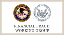 Financial Fraud Working Group Criminal Division Securities and Exchange Commission Commodity Futures Trading Commission Department of the Treasury Board of Governors of the Federal Reserve System Office of the Comptroller of the Currency
