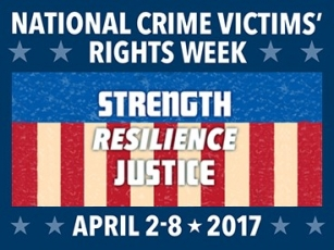 National Crime Victims' Rights Week Banner