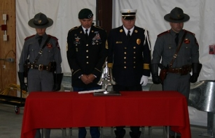We Will Never Forget. We Will Always Remember. 9-11 remembrance ceremony at RI State Police