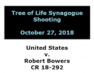 Information on US v. Robert Bowers