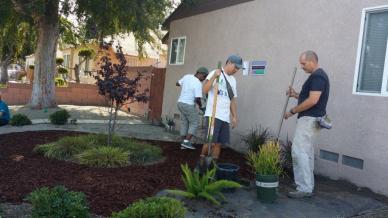Rebuilding Together Long Beach Volunteers