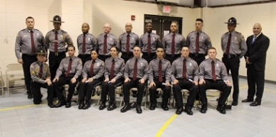 Congratulations to the graduates of Class 41 of the Wyatt Detention Center Training Facility, and to your commitment as a member of law enforcement.