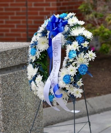 Providence Police Department's annual Peace Officers' Memorial Service and wreath-laying ceremony