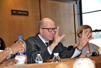 Judge at Mock Trial