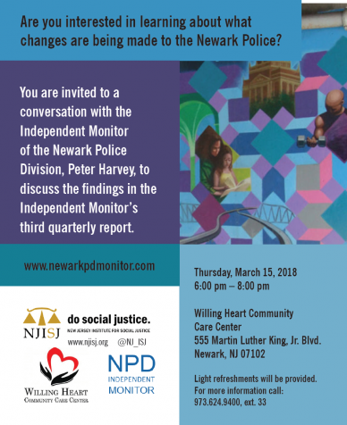 Public conversation with Independent Monitor Peter Harvey