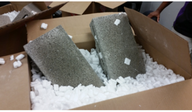 pumice stone used in fraud