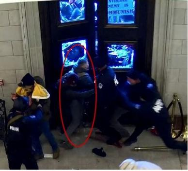 Security camera footage screenshot