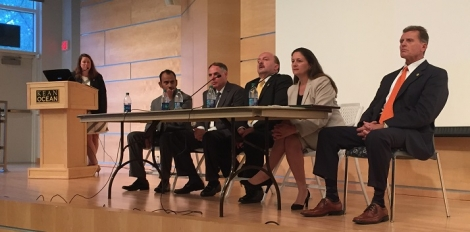 Event Panelists at Ocean County Film Screening