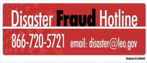 Disaster Fraud Billboard