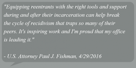 NJ Federal Prisoner Reentry Program