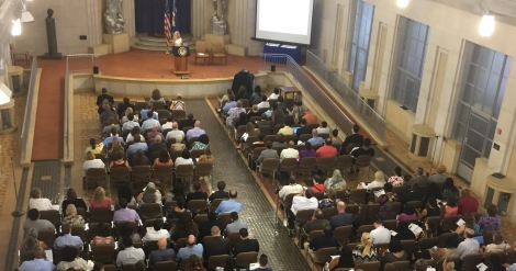 Crowd at a OIP Training Event