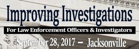 Improving Investigations