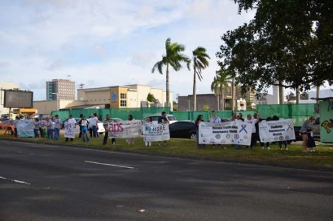 Picture of Human Trafficking Awareness and Prevention Wave in Guam