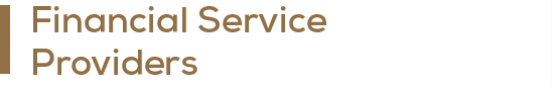 Financial Service Providers