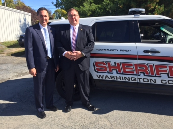 United States Attorney Richard S. Hartunian honored Washington County Sheriff Jeffrey J. Murphy