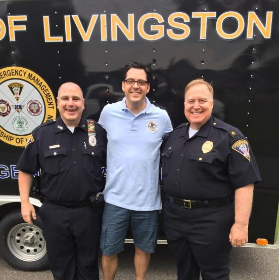 USAO NJ Staff Meets with members of Livingston NJ PD