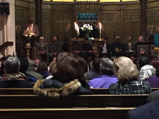 A weekend of inspiring celebrations of the life and ministry of Dr. Martin Luther King Jr., attended by United States Attorney Peter Neronha, began with this gathering at the Calvary Baptist Church in Providence on Sunday, January 15.