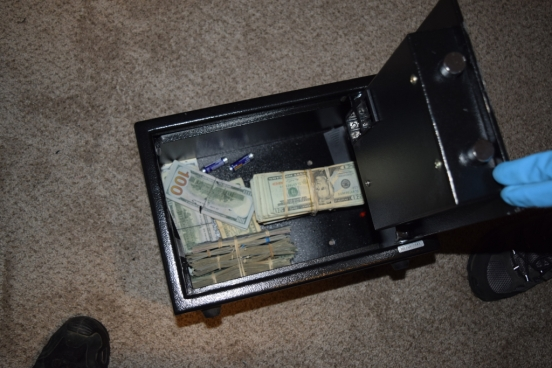 Safe Containing Cash