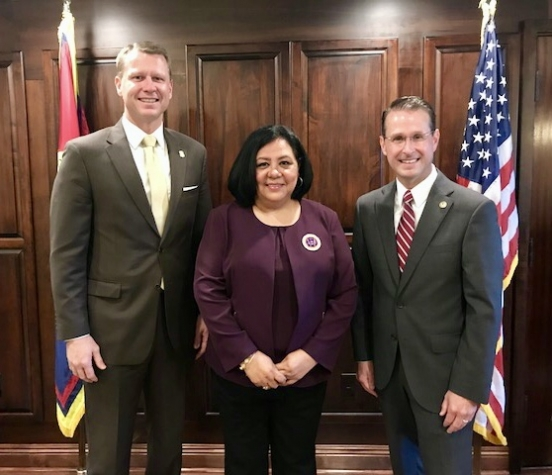 U S  Attorney Dunavant meets with Choctaw Indian Tribal