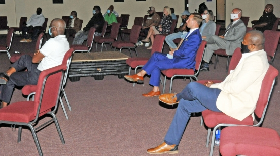 pastors meet at United Believers Community Church