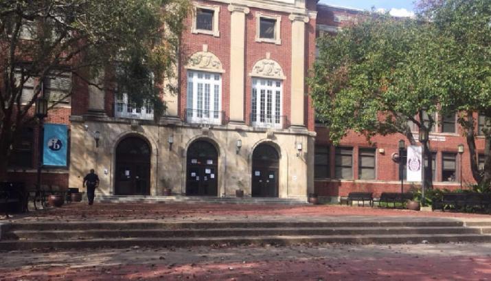Lanier Middle School in Houston