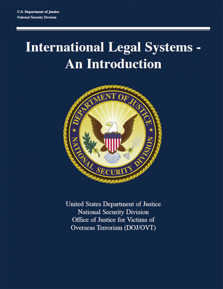 International Legal Systems - An Introduction