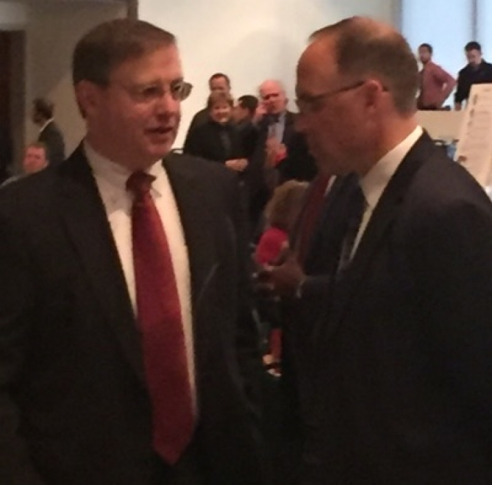 Acting DEA Administrator Chuck Rosenberg and FAUSA Corey Ellis at 2017 Charlotte Heroin Conference