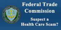 Arizon Federal Trade Commission, Suspect a Health care scam?