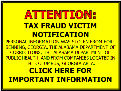Tax Fraud Victim Notification