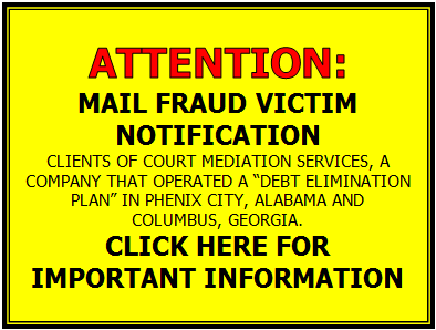 Mail Fraud Victim Notification