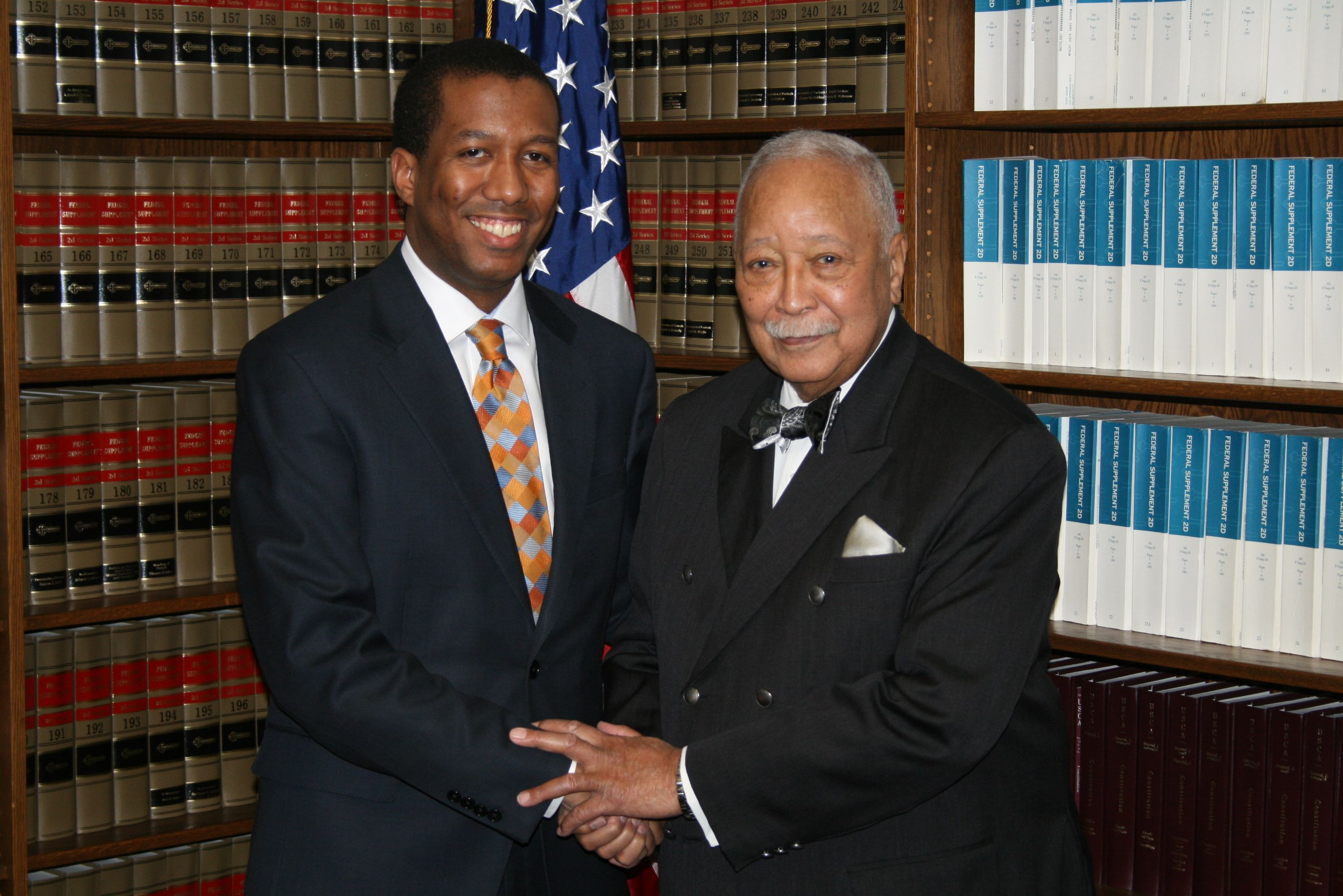 former nyc mayor david dinkins visit usao sdny department of justice
