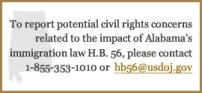 Alabama Immigration Law H.B. 56