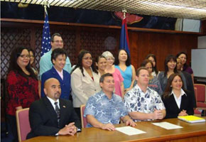 Human Trafficking Awareness Month Proclamation Signing, Governor's Office