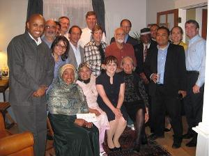 Former U.S. Attorney Holton hosted a dinner for Assistant Attorney General Tom Perez and Muslim community leaders.