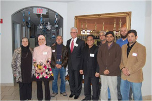 U.S. Attorney Grissom with the leaders of the Islamic Society of Wichita