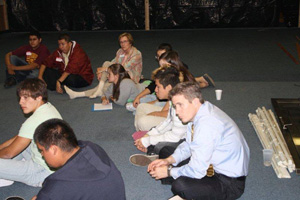 District of South Dakota U.S. Attorney Brendan Johnson attends Tribal Youth Listening Conference